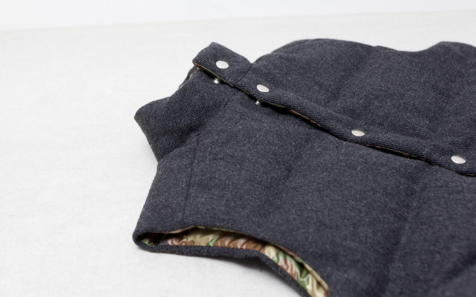 Happy Down Vest (Wool)
